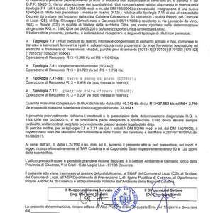Autorizzazione AUA 3