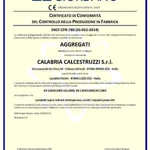 Certificazione inerti 2